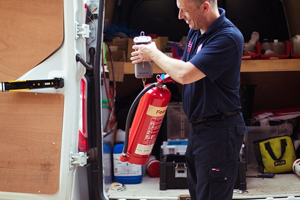 Fire Extinguisher Servicing Specialist