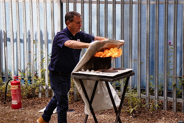 Fire Safety Training In The WorkPlace Hands On