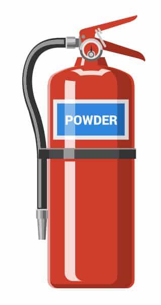 Types of Fire Extinguisher Powder