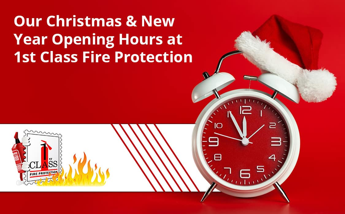 1st Class Fire Protection Xmas Opening