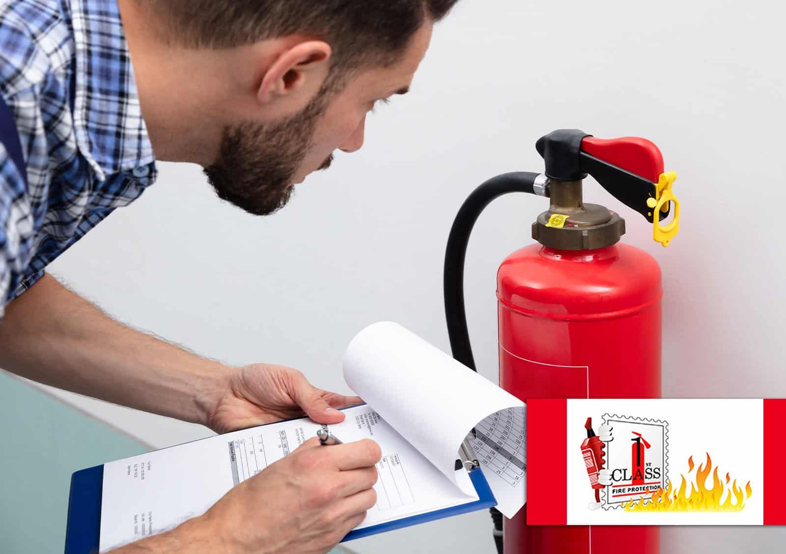 fire extinguisher maintenance checklist update