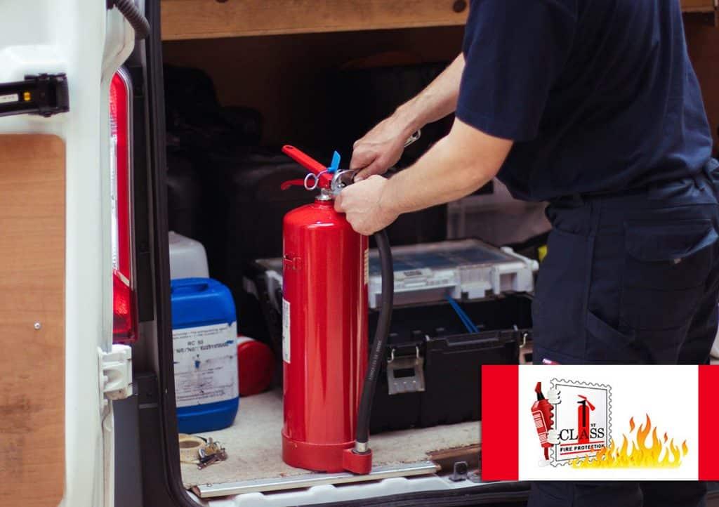 fire extinguisher maintenance expert